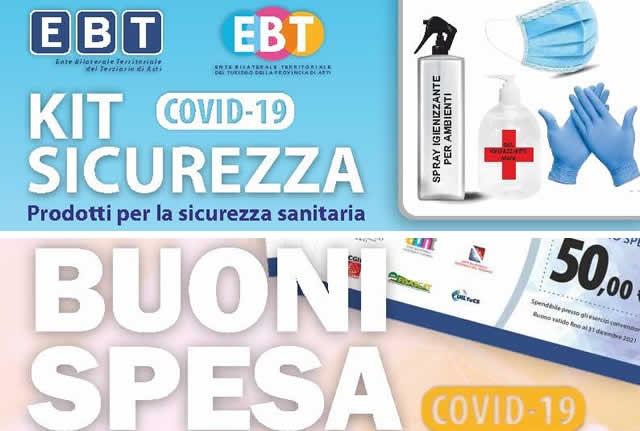 Bonus EBT - Emergenza Covid-19 - Supporto ad imprese e lavoratori