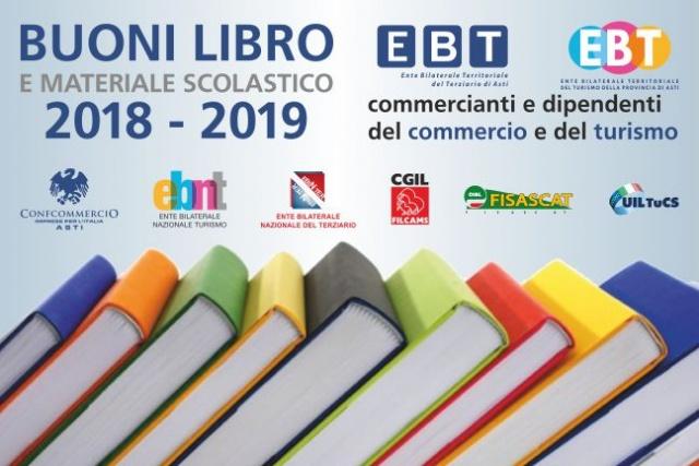 EBT - attribuzione di buoni libro e materiale scolastico